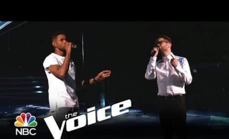 Josh Kaufman and Usher - Every Breath You Take (The Voice)