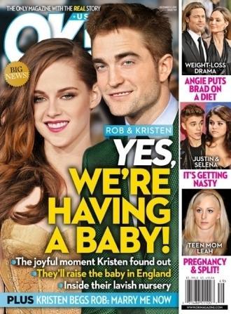 Kristen Stewart and Robert Pattinson: Expecting?