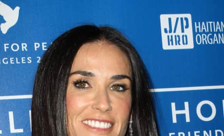 Demi Moore for a Good Cause