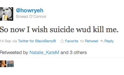 Sinead O'Connor Suicide Tweets: Plea For Help or Attention-Grabbing Ploy?