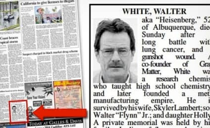 Walter White Obituary: Published in Albuquerque Journal!