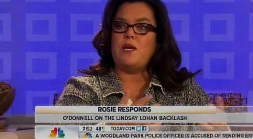 Rosie O'Donnell on Today