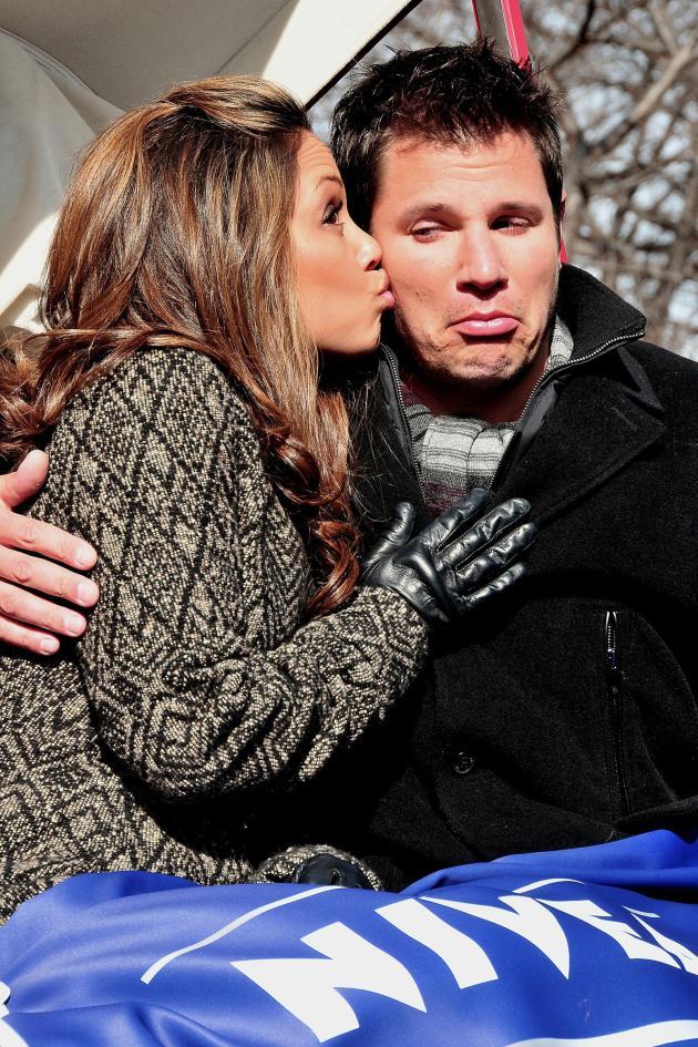 Vanessa Kisses Nick Photo