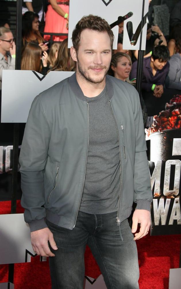 Chris Pratt in April 2014