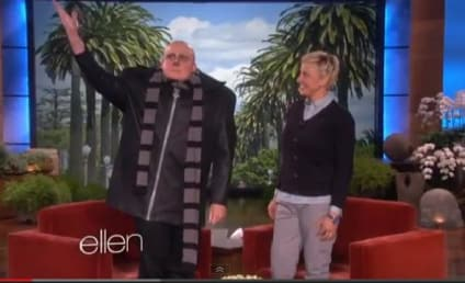 Steve Carell Appears on Ellen as Gru, Dances Through Crowd