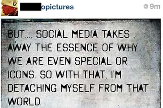 CB Instagram Note