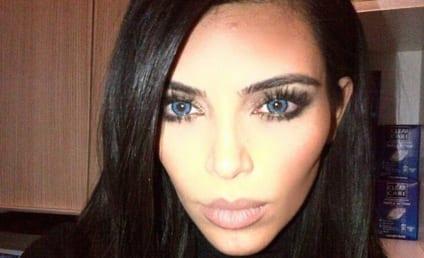 Kim Kardashian and Kanye West Make Like... Wolves?!?