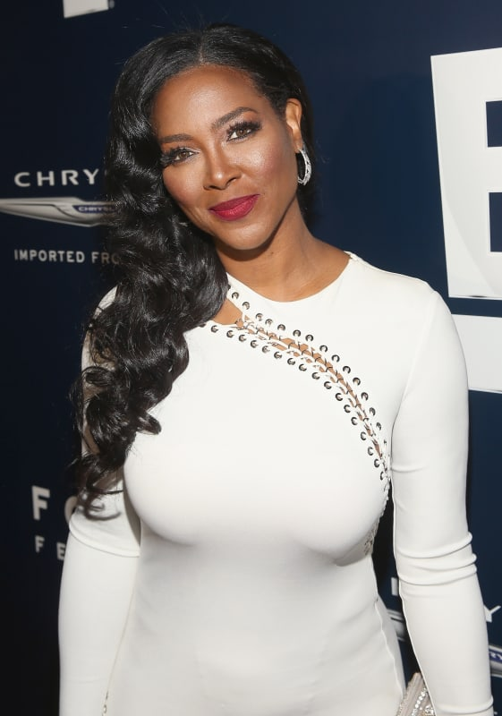 Kenya moore in white