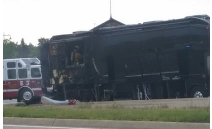 Lady Antebellum Tour Bus Catches on Fire, No One Injured