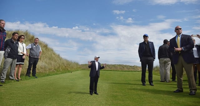 Tiny Trump, Big Golf Course