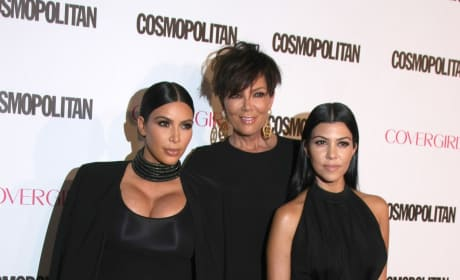 Kris Jenner, Kourtney and Kim