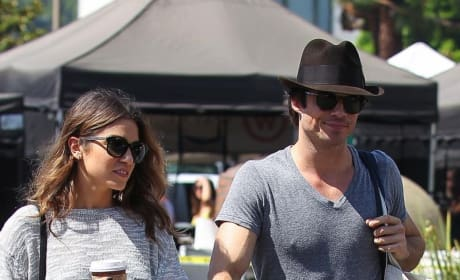 Ian Somerhalder & Nikki Reed: An 'Electric' Connection