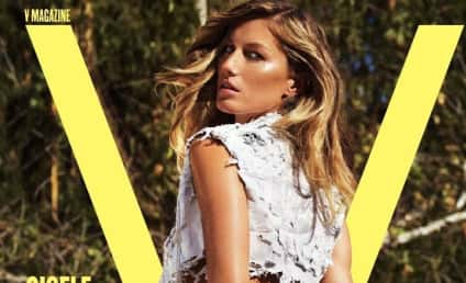 Gisele Bundchen Poses in V, Comments on Miley Cyrus