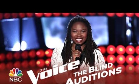 Anita Antoinette - Turn Your Lights Down Low (The Voice Audition)