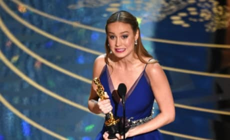 Brie Larson Wins Best Actress: See Her Speech!