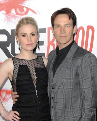Anna Paquin and Stephen Moyer Picture