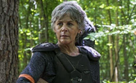 Carol on The Walking Dead Season 8
