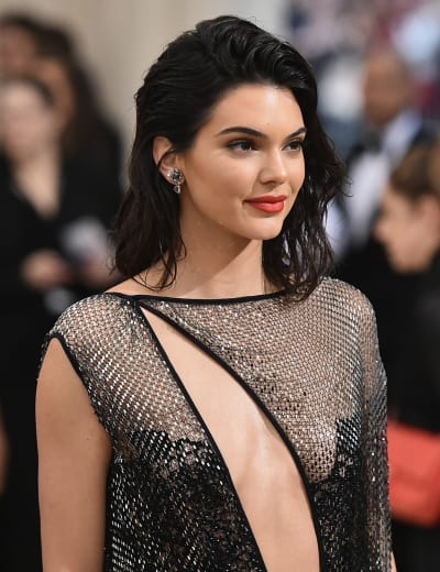 Kendall Jenner at the MET