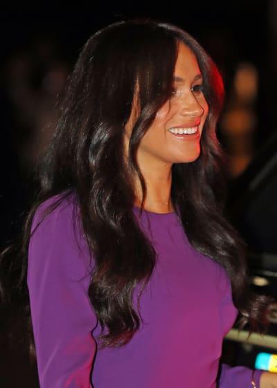 Meghan Markle in Purple