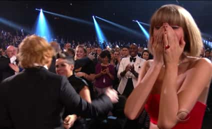Taylor Swift: Crying After Flubbed Grammys Performance?