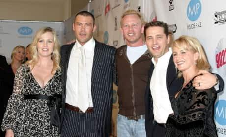 Beverly Hills 90210 DVD Launch Photo