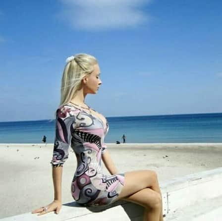 Human Barbie Figure