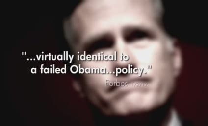 """Newt Gingrich Hammers """"Timid"""" Mitt Romney in New Ad"""