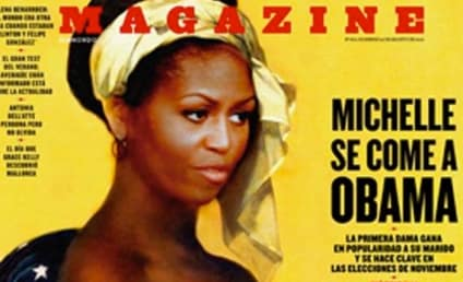 Michelle Obama Depicted as Slave on Spanish Magazine Cover: WTH?!?
