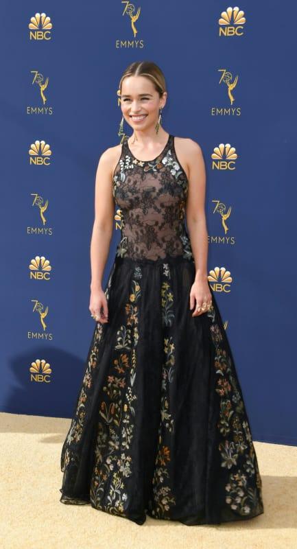 Emilia clarke at 2018 emmys