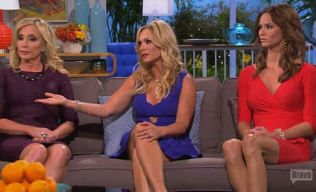 Real Housewives Reunion Beef