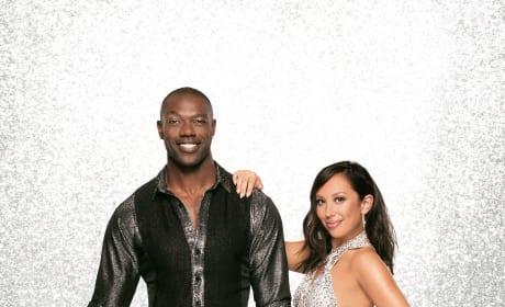 Terrell Owens and Cheryl Burke