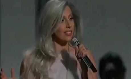 Lady Gaga Academy Awards Performance