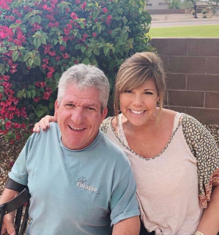 Matt Roloff and Caryn Chandler in Arizona