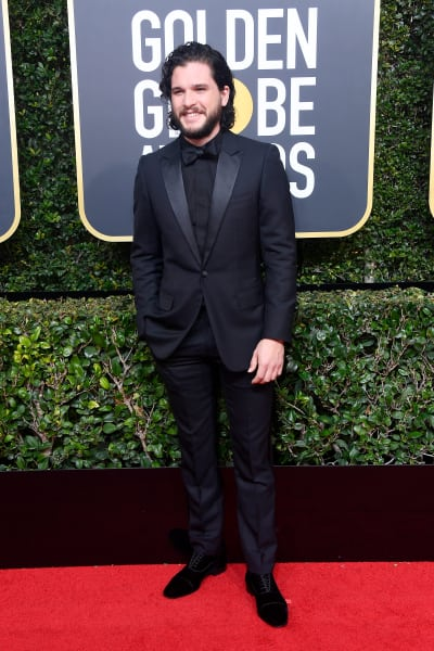 Kit Harrington at the Globes