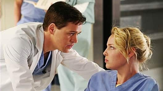 George O'Malley and Izzie Stevens