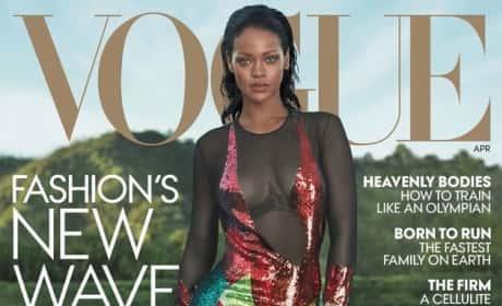 Rihanna Vogue Cover Pic