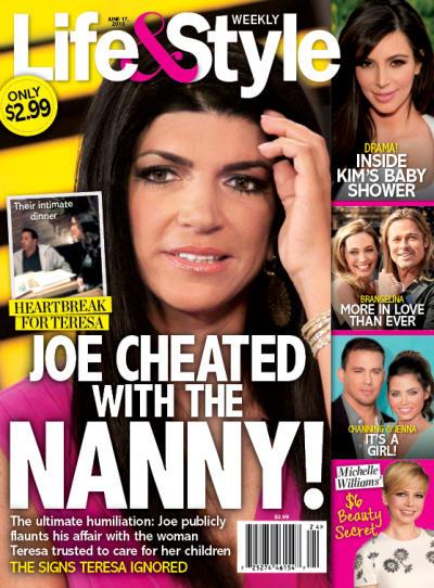Joe Giudice Cheating Story