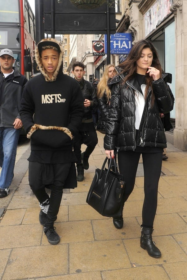 Kylie Jenner and Jaden Smith