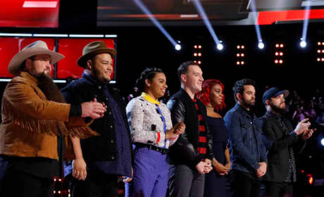 Voice Top 8 Performers
