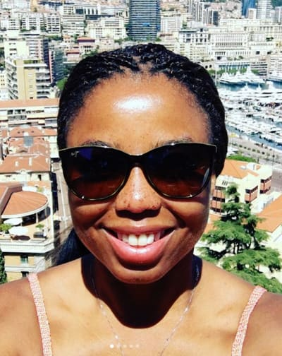 Jemele Hill in Sunglasses