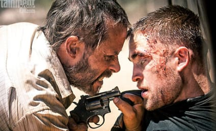Robert Pattinson and Guy Pearce in The Rover: First Look!