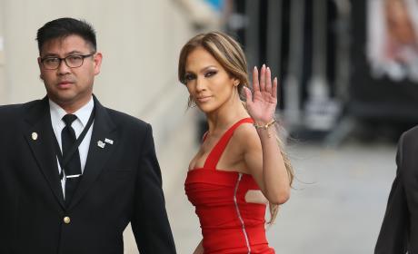 Jennifer Lopez in Bandage Dress