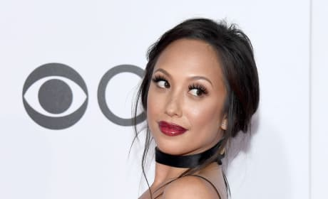 Cheryl Burke at People's Choice Awards