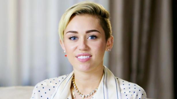 Miley Cyrus on MTV