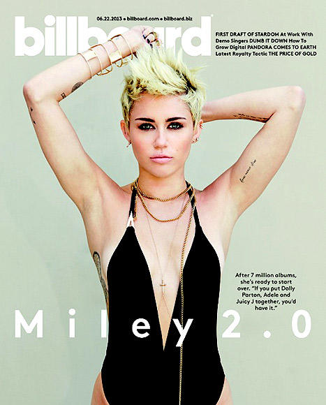 Miley Cyrus Billboard Cover