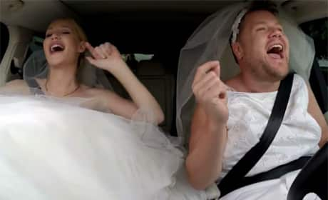 Iggy Azalea Goes Wedding Dress Shopping with James Corden