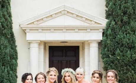 Vanessa Hudgens as a Bridesmaid
