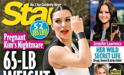 Kim Kardashian: Melting Down Over Weight Gain!