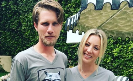 Kaley Cuoco: Engaged to Karl Cook! Watch Her Say Yes!