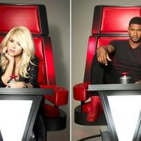 Usher and Shakira